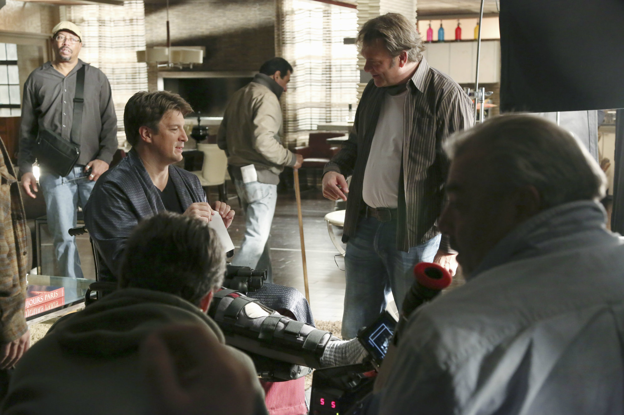 CASTLE - Behind-the-Scenes of 'The Lives of Others'