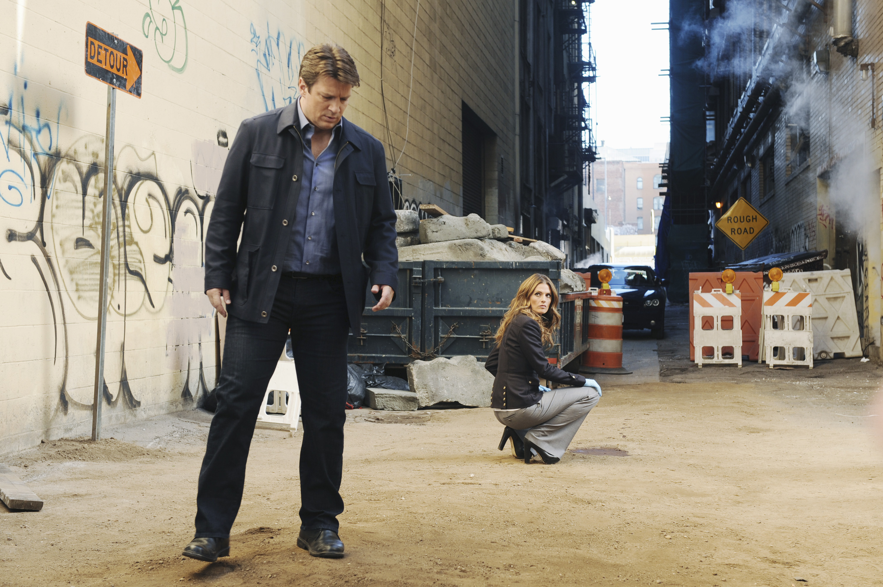 CASTLE: 'The Fast and the Furriest'