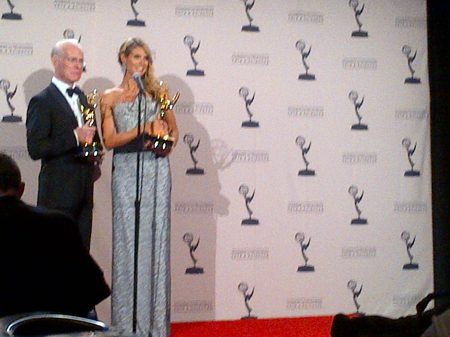 Heidi Klum and Tim Gunn (Outstanding Host For A Reality Or Reality-Competition Program)