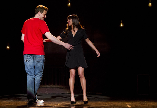 Finn and Rachel (Glee)