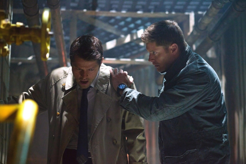 Dean and Castiel (Supernatural)