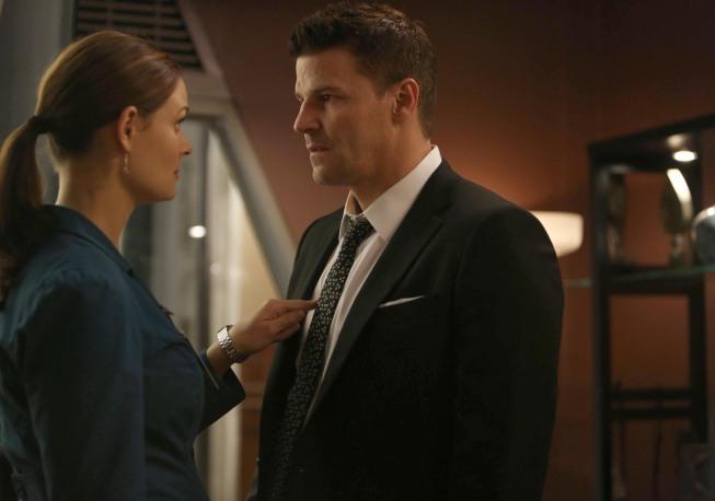 Brennan and Booth (BONES)
