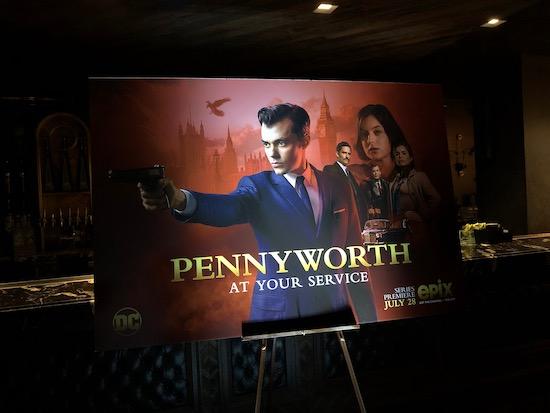 Pennyworth Comic-Con Activation