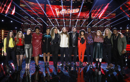 THE VOICE Top 13
