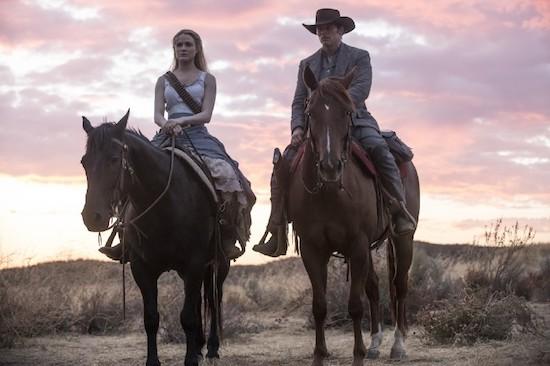 Evan Rachel Wood and James Marsden in Westworld Season 2