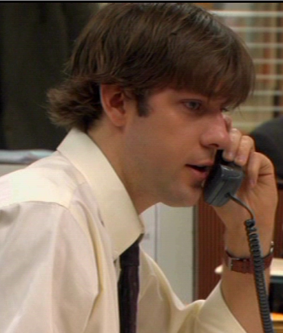 John Krasinski as Jim Halpert on NBC's The Office