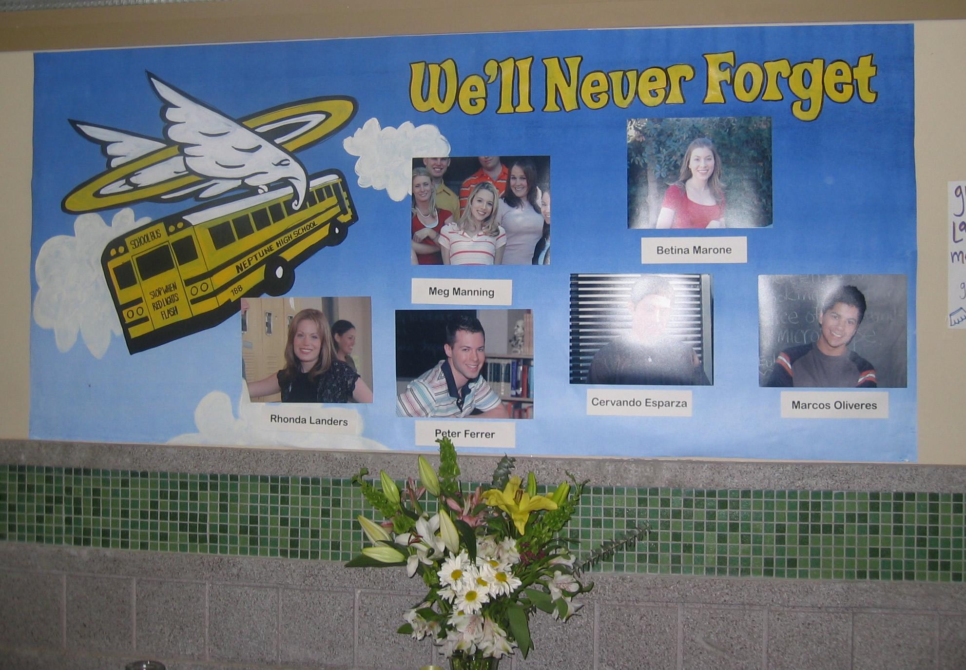 Veronica Mars Crash Victims
