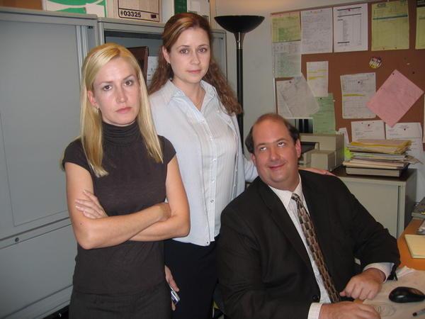 Jenna Fischer, Angela Kinsey, Brian Baumgartner
