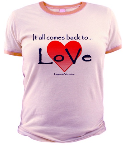 Veronica Mars t-shirt (LoVe)