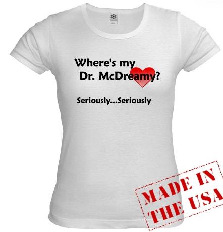 McDreamy t-shirt