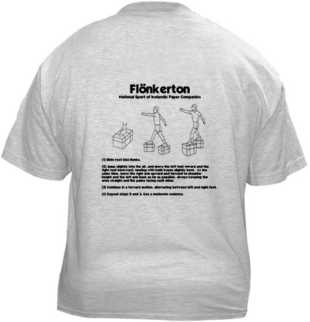 The Office t-shirts: Flonkerton