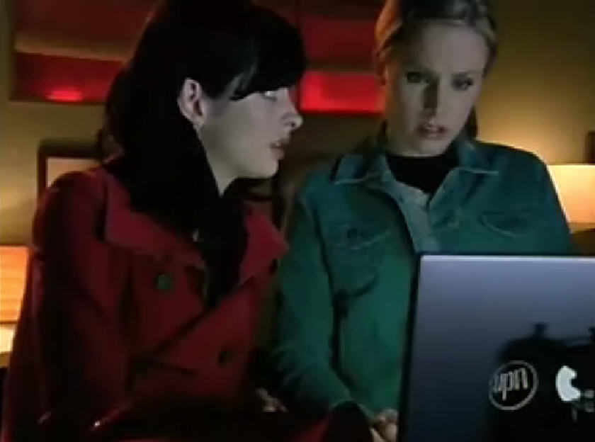 Veronica Mars: Veronica and Gia