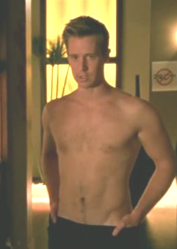 Jason Dohring of Veronica Mars Shirtless