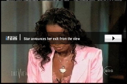 Star Jones Fired from The View