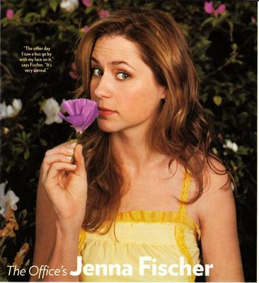 Jenna Fischer Poses Nude for Jane Magazine