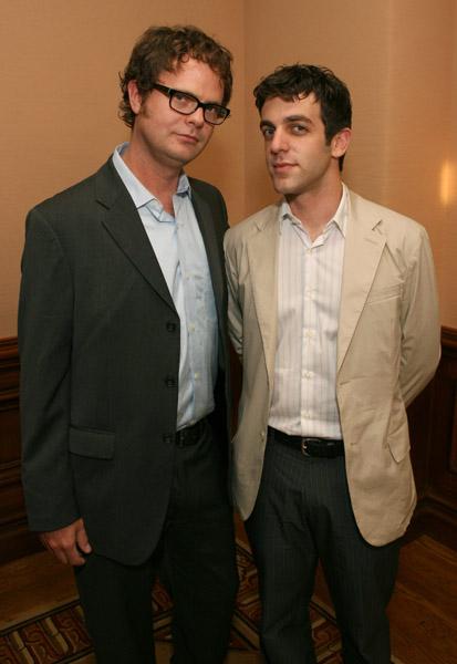Rainn Wilson and BJ Novak
