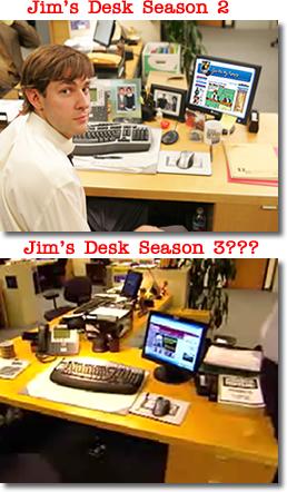 Jim Halpert (John Krasinski) from The Office