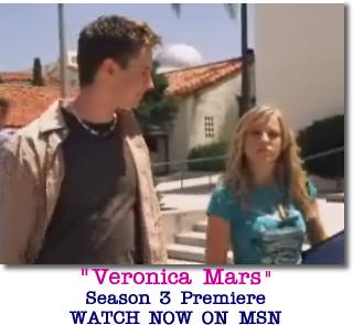 WATCH Veronica Mars Season 3 Premiere NOW!!
