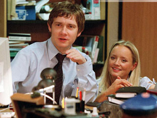 Tim and dawn - The office american version ...