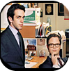 BJ Novak and Rainn Wilson, The Office