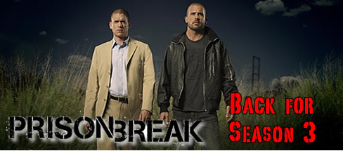 Prison Break Renewed for Season 3
