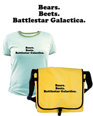 """Bears. Beets. Battlestar Galactica"", THE OFFICE t-shirts and merchandise"