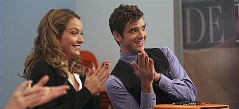 Marc and Amanda on Ugly Betty