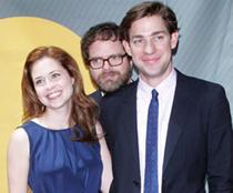 Jenna, Rainn and John (Source: Wireimage)
