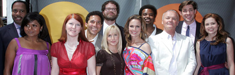 The Cast of THE OFFICE, NBC Upfronts