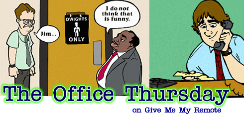 The Office Thursday on Give Me My Remote