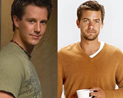 Jason Dohring and Joshua Jackson