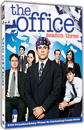 THE OFFICE Season 3 on DVD