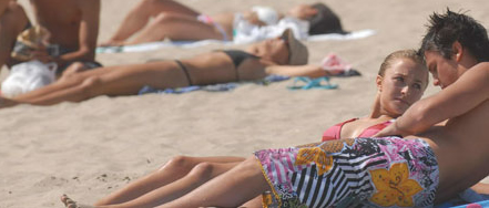 Hayden Panettiere & Stephen Colletti Have Fun in the Sun