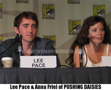 Lee Pace and Anna Friel