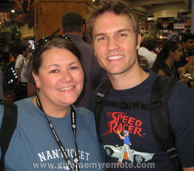 GMMR and Scott Porter who stars as Jason Street on FRIDAY NIGHT LIGHTS