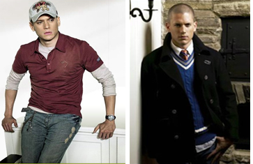 Wentworth Miller, Bean Pole Modeling Pics