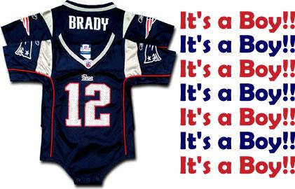 baby tom brady jersey