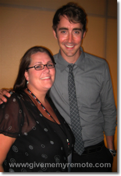 Lee Pace (Pushing Daisies) & GMMR
