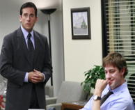 Steve Carell and John Krasinski