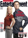 Angela Kinsey & Rainn Wilson, The Office, EW
