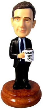 THE OFFICE: Michael Scott Bobblehead Giveaway