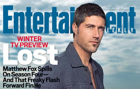 Matthew Fox, Lost, EW