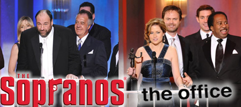 SAG Awards - The Sopranos, The Office