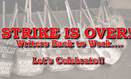 WGA Strike is Over