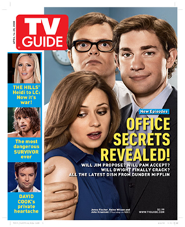 The Office, TV Guide - Cover