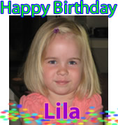 Happy Birthday, Lila