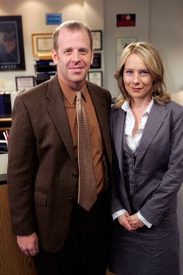 Paul Lieberstein and Amy Ryan, The OFFICE