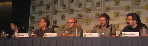Showrunners Panel - Comic Con