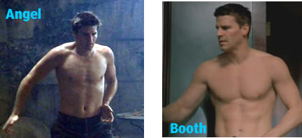 David Boreanez shirtless