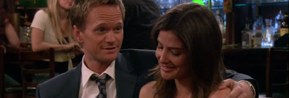 When do barney and robin first start hookup